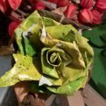 eine faire Rose, die lange hält
